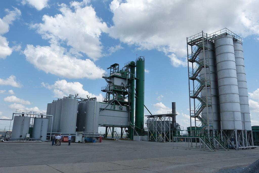 Асфальтовый завод в Мамадыше