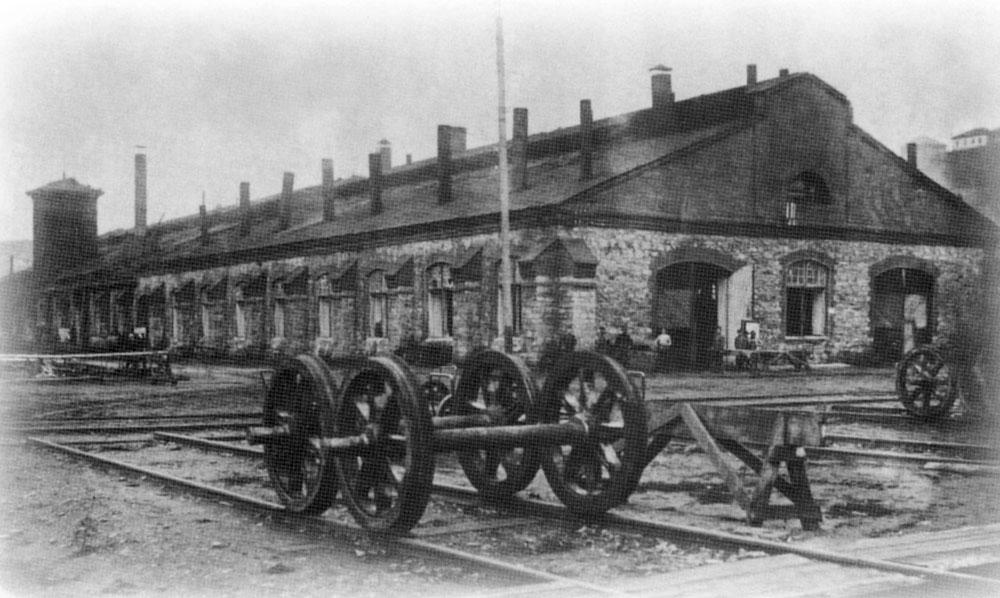 Усть-Катав фото города: Цех Усть-Катавского завода в начале 20 века