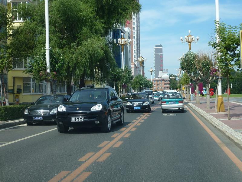 Китайские машины в Провинциальном Китае