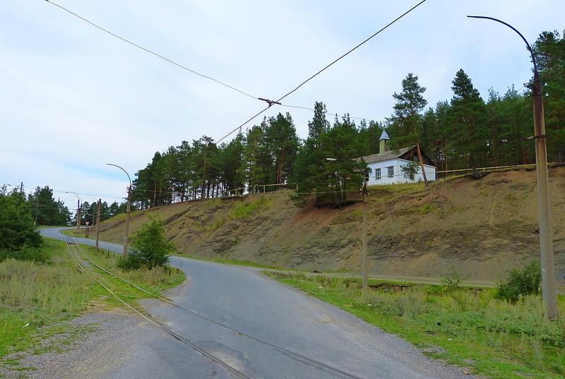 Усть-Катав маленький городок с трамвайной линией