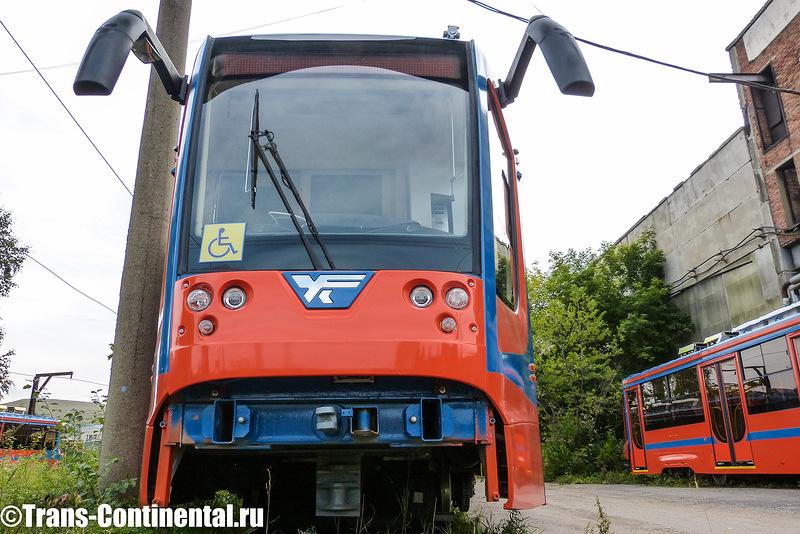 Трамвай Усть-Катавский вагоностроительный завод