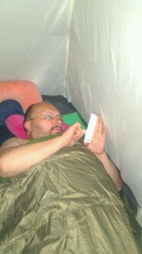 темные территории: пишем из палатки