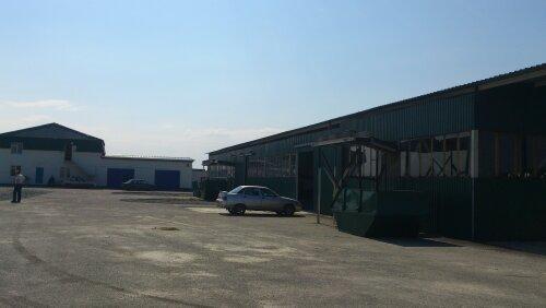 Двор мусоросортировочного завода