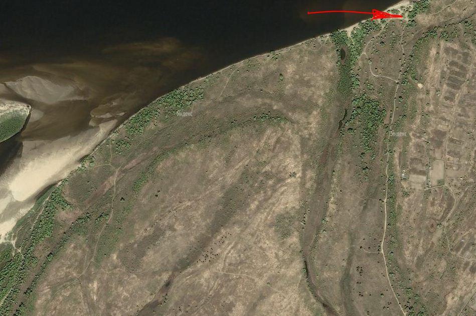Навигация по снимку из космоса.