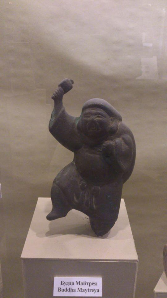 Будда Майтрея времен Бохайского царства
