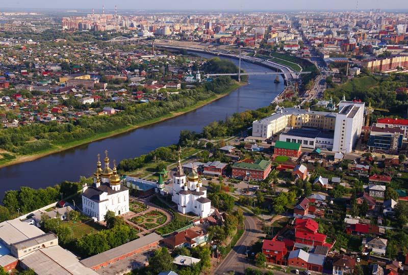 Тюмень, Свято-Троицкий мужской монастырь,