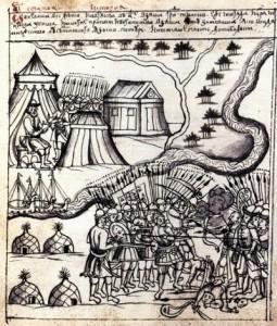 История Тюмени: Рисунок Чинги-Тура из Ремезовской летописи