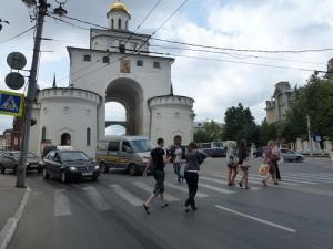 Золотые ворота во Владимире фото