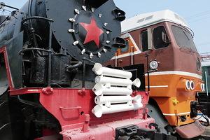 новосибирск музей паровозов