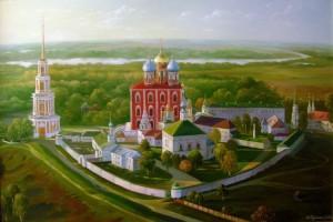 изображение рязанского кремля