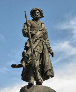 фото иркутских достопримечательностей, памятник первопроходцам