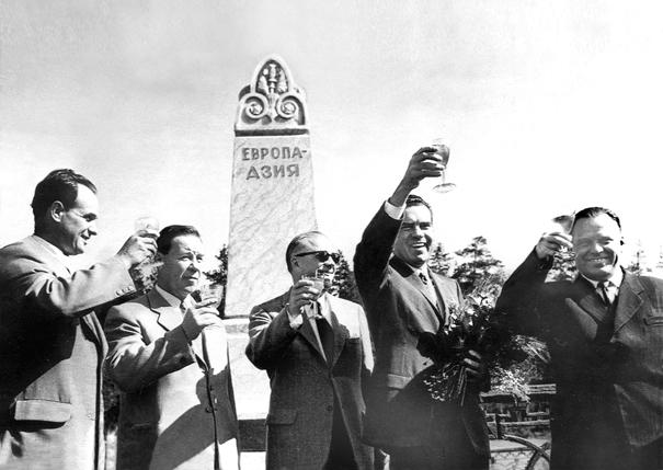 Граница между Европой и Азией: Данилов и Никсон, июль 1959