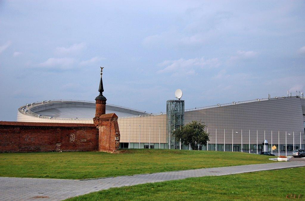 Центр конькобежного спорта в Коломне