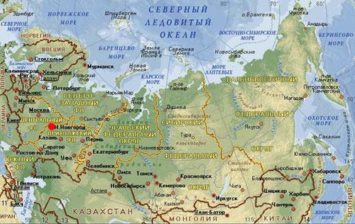 какой город севернее новосибирск мурманск красноярск иркутск или хабаровск