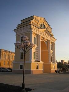 фото иркутских достопримечательностей Триумфальная арка