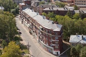 конструктивистский дом-корабль, одна из достопримечательностей Иваново фото