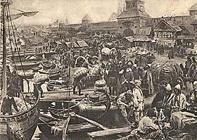 Торговая сторона Новгород Великий