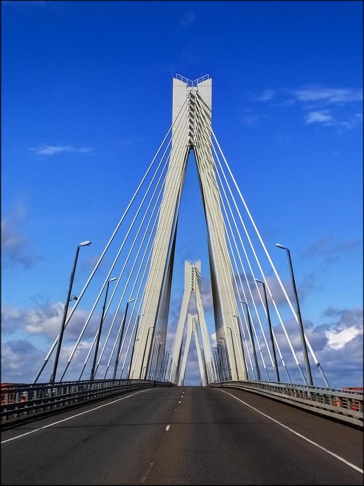 Муром Вантовый мост через Оку