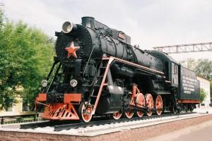 Муром Памятник на железнодорожном вокзале