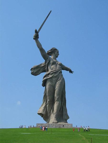 Волгоград монумент Родина мать