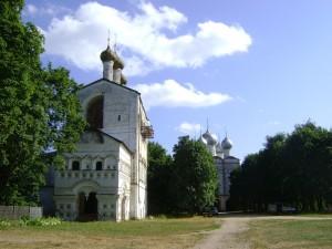 Монастырь в Борисоглебском Трехэтажная колокольня