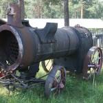 Железнодорожный музей Переславль-Залесский Локомобиль