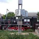 Паравоз в депо Белгорода