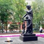 Монумент Вечный огонь в Белгороде