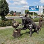 Лиса и колобок в Белгороде