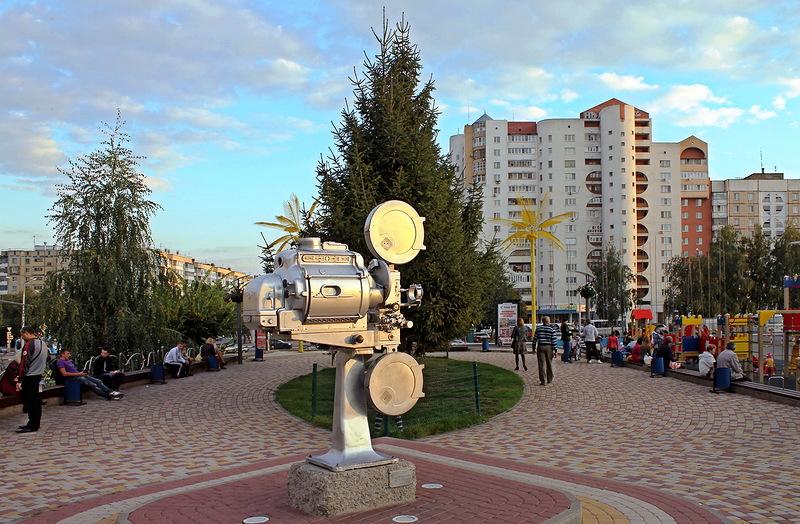 Монумент кинопроектору в Белгороде