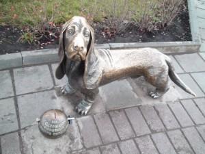 Кострома достопримечательности: Памятник собаке