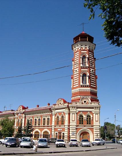 Здание царицынской пожарной команды Пожарная каланча