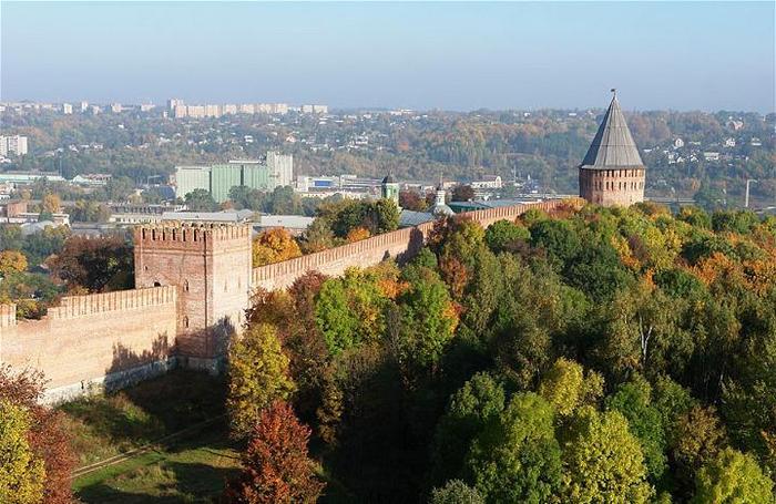 Смоленский кремль фото