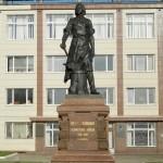 Памятники Тулы: Памятник Петру I