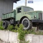 Памятники Тулы: памятник самосвал МАЗ-205