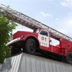 Памятники Тулы: пожарная автолестница