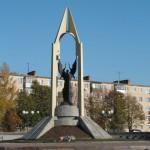Памятник тулякам, погибшим в годы Великой Отечественной войны.