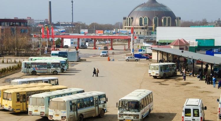 Автовокзал Заречный в Туле